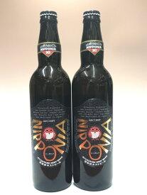 常陸野ネストビール ニッポニア 8度 550ml×2本組 茨城 クラフトビール