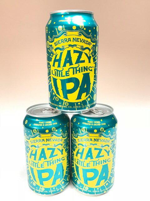 シエラネバダ ヘイジー・リトルシングIPA缶 6.7% 355ml×3本組 【要冷蔵商品】【クラフトビール】【SIERRA NEVADA】【アメリカ】【6月新商品】