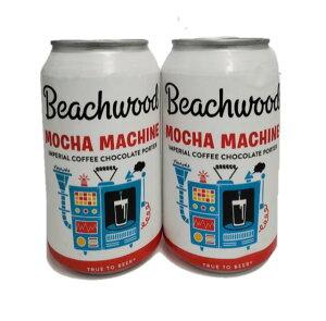 ビーチウッドBBQ モカマシン インペリアルチョコレートコーヒーポーター 9.2% 355ml缶×2本組 【要冷蔵商品】【クラフトビール】【アメリカ】【カリフォルニア】【オレンジカウンティ】