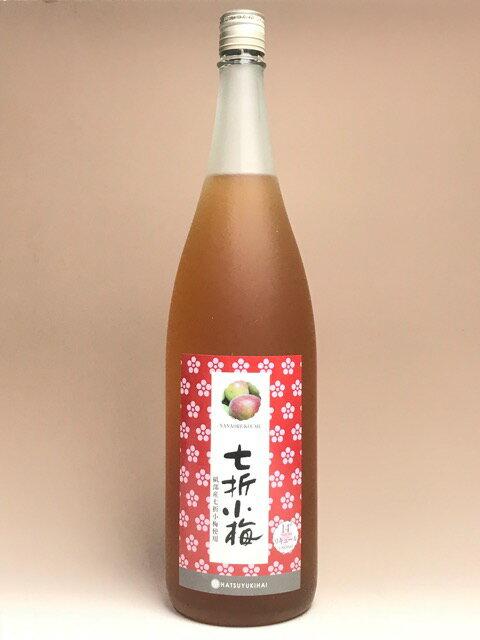 初雪盃 七折小梅梅酒 14度 1800ml 【愛媛のリキュール】【愛媛のリキュール】