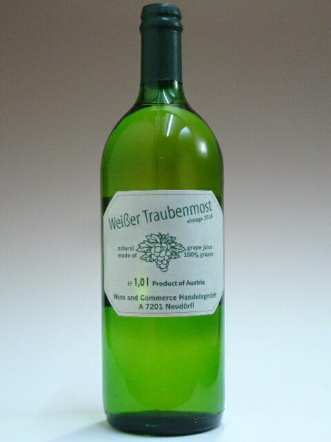 トラウベンモスト 白ぶどうストレートジュース 1000ml(1リッター)(1L) 【ノンアルコール】【0.00%】