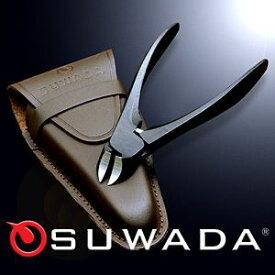 新潟県三条市のSUWADAニッパー式つめ切り本牛革ケースセット/スワダの爪切り/匠の技日本製高級爪きり