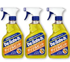 《あす楽》 ディゾルビット (De-Solv-it) 375ml 3個セット [オレンジソル ORANGE-SOL]【オレンジクリーナー オレンジオイル 液体洗剤】