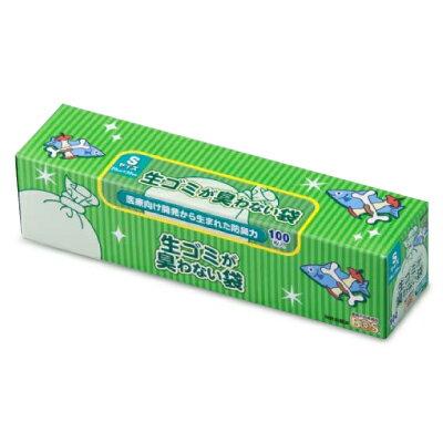クリロン化成 生ゴミが臭わない袋BOS (ボス) 生ゴミ用 箱型 Sサイズ (100枚入)《あす楽》