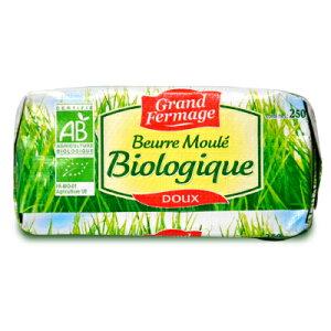《送料無料》ユーリアル グランフェルマージュ (Grand Fermage BIO) グラスフェッドバター 250g 無塩 正規輸入品 冷蔵手数料無料《あす楽》