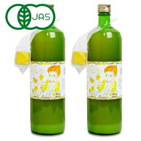 かたすみ 有機レモン果汁 ストレート100% 900ml × 2本 有機JAS