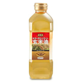 オリザ油化 胚芽の恵みを受けた玄米油(国産) 600g こめ油 米油