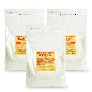 《送料無料》パイオニア企画 国産小麦パン用強力粉春よ恋100% 2kg × 3袋