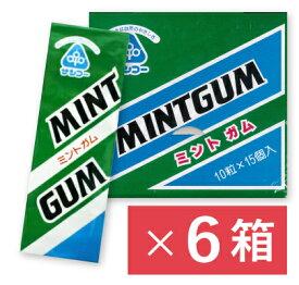 《送料無料》サンコー ミントガム (10粒 × 15個入)× 6箱