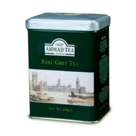 富永貿易 AHMAD TEA アーマッドティー 紅茶 アールグレイ 200g 缶《あす楽》