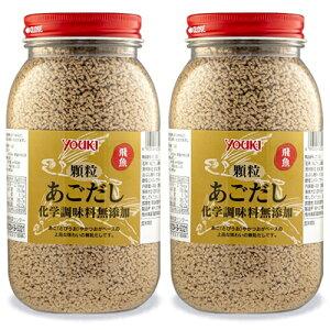 《送料無料》ユウキ食品 顆粒あごだし化学調味料無添加 400g × 2個 セット