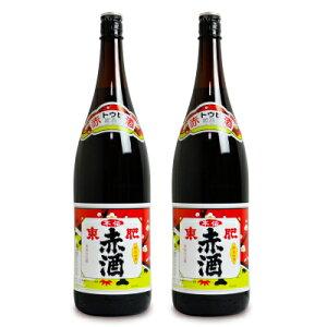 【お買い物マラソン限定!クーポン発行中】瑞鷹 本伝 東肥赤酒(飲用)1.8L × 2本