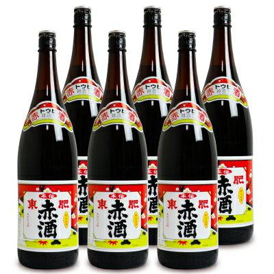 《送料無料》瑞鷹 本伝 東肥赤酒(飲用)1.8L × 6本 ケース販売《あす楽》
