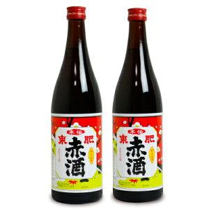 【お買い物マラソン限定!クーポン発行中】瑞鷹 本伝 東肥赤酒(飲用)720ml × 2本