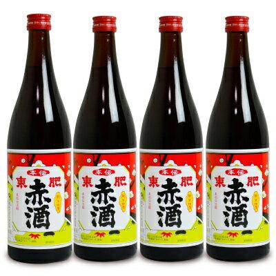 瑞鷹 本伝 東肥赤酒(飲用)720ml × 4本《あす楽》