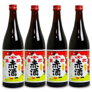 瑞鷹 本伝 東肥赤酒(飲用)720ml × 4本