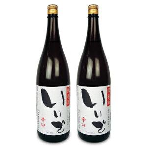 《送料無料》ほまれ酒造 会津ほまれ いいで 純米酒 1.8L × 2本