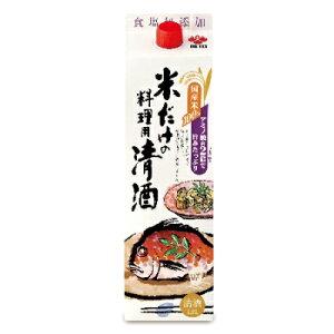 盛田 米だけの料理用清酒 1.8L