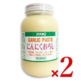 《送料無料》ユウキ食品 にんにくおろし 1kg × 2個 [youki]
