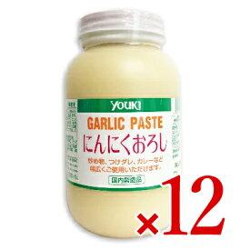 《送料無料》ユウキ食品 にんにくおろし 1kg × 12個 [youki]