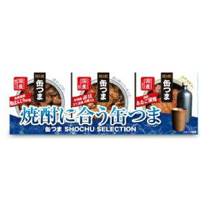 【 SS期間限定 クーポン発行中! 】国分 K&K 缶つま SELECTION 焼酎に合う缶つま 3個セット