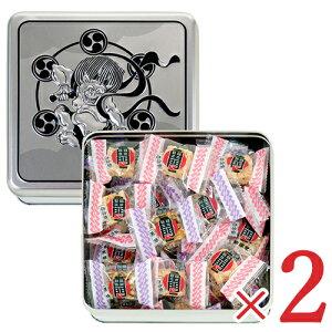 《送料無料》常盤堂雷おこし本舗 雷神ポータブル 缶 100g × 2個 セット