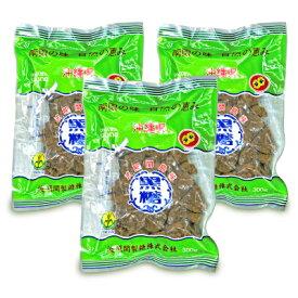 波照間産 黒糖 300g × 3個 国産 黒砂糖 ゆうな物産