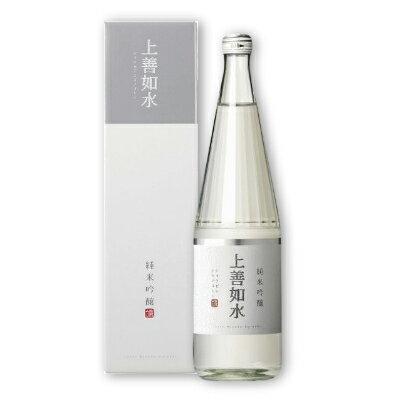 上善如水 純米吟醸 720ml [白瀧酒造 新潟県]【お酒 日本酒 辛口 純米酒 ジョウゼン】《あす楽》