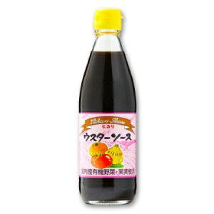 ヒカリ ウスターソース 360ml (国産野菜・果実使用)[光食品]【ウスター ソース 無添加】《ポイント消化に!》