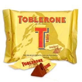 トブラローネ タイニー・ミルクバッグ 200g [TOBLERONE]【チョコレート チョコ お菓子 スイス お土産 おみやげ】