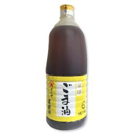 かどや製油 金印 純正ごま油 (濃口) 1650g 【かどや ごま油 胡麻油 ゴマ油 業務用 お徳用】《あす楽》