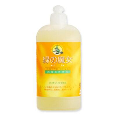 緑の魔女 バス (お風呂用洗剤)本体 420ml [ミマスクリーンケア]【無香料 浴槽用 浴室用 液体洗剤 おふろ用洗剤】《あす楽》