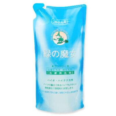 緑の魔女 ランドリー (洗濯用洗剤) 620ml 詰替用 フローラルの香り [ミマスクリーンケア]【衣類用 液体洗剤 洗濯洗剤 詰め替え 詰替】《あす楽》