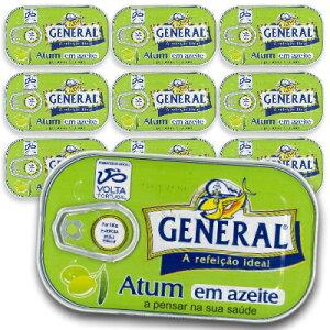 《送料無料》 General ツナのオリーブオイル漬け 110g × 10缶 【缶詰 ツナ 保存食 無添加】