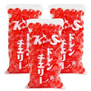 紀州食品 KS ドレンチェリー 赤 400g × 3個