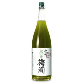 中野BC 緑茶梅酒 1.8L《あす楽》