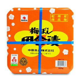 中田食品 紀州梅ぼし 田舎漬 600g《あす楽》