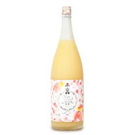 中田食品 とろこく桃姫 桃たっぷり梅酒1.8L《あす楽》
