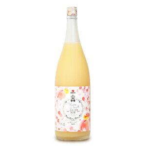 中田食品 とろこく桃姫 桃たっぷり梅酒1.8L