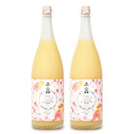 中田食品 とろこく桃姫 桃たっぷり梅酒1.8L × 2本《あす楽》