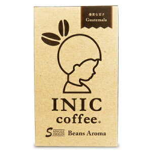 イニックコーヒー INIC COFFEE ビーンズアロマ グァテマラ 4g × 30袋