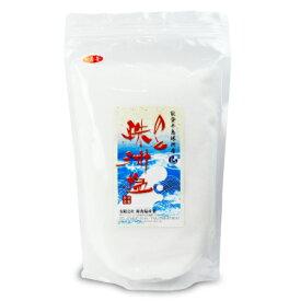 新海塩産業 のと珠洲塩 一番釜 1000g《あす楽》
