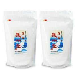 《送料無料》新海塩産業 のと珠洲塩 一番釜 1000g × 2個《あす楽》