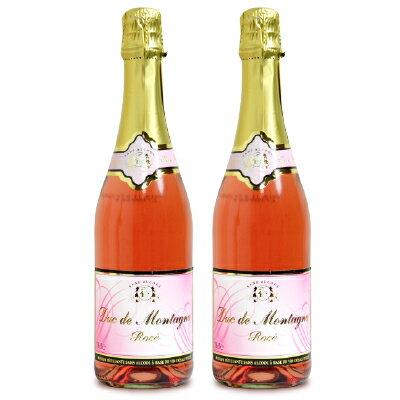 湘南貿易 デュク・ドゥ・モンターニュ ノンアルコールワイン ロゼ 750ml × 2本 《あす楽》