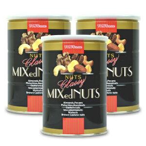 《送料無料》東洋ナッツ食品 トンTON'S クラッシー ミックスナッツ 缶 360g × 3個