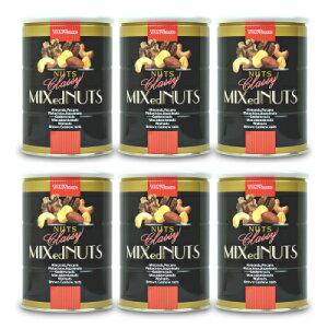 《送料無料》東洋ナッツ食品 トンTON'S クラッシー ミックスナッツ 缶 360g × 6個
