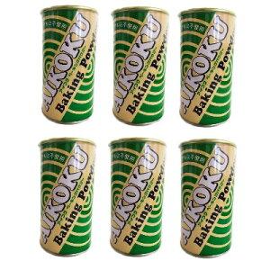《送料無料》アイコク ベーキングパウダー 家庭用 アルミ不使用 100g ×6缶 《あす楽》
