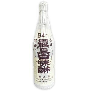 最上白味醂 1.8L (1800ml)[馬場本店酒造]【料理用 みりん 味醂 白みりん 馬場本店 一升瓶】