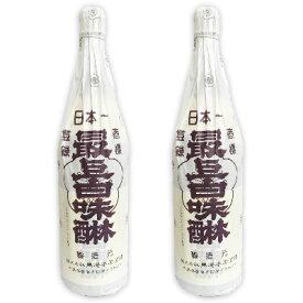 最上白味醂 1.8L (1800ml)× 2本 [馬場本店酒造]【料理用 みりん 味醂 白みりん 馬場本店 一升瓶】《あす楽》