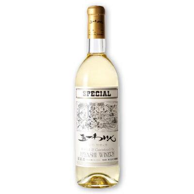 林農園 五一わいん スペシャル 白 720ml [白ワイン 甘口]【果実酒 ワイン お酒 五一ワイン 日本 信州 桔梗ケ原】《あす楽》